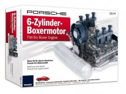 Porsche 6 Zylinder horizontally opposed engine