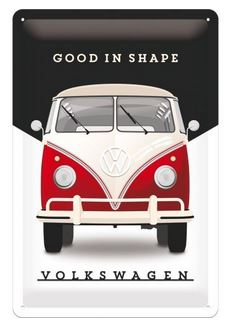 Advertising sign VW Bus