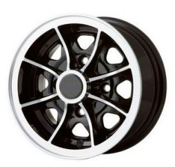 "5.0 x 10"" Alloy wheel"