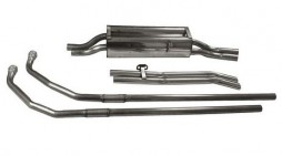 Stainless steel exhaust Jaguar MKII