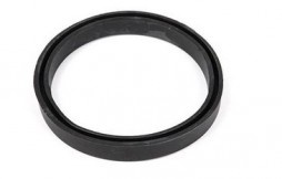 Sealing ring on filter housing