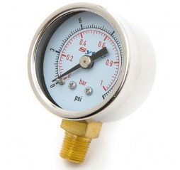Manometer for fuel pressure regulator