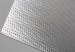 Aluminium sheet with Polka Dot surface