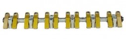 Rocker shaft with ball bearing - ratio 1:1,65